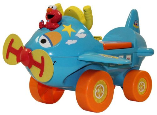 Tek Nek Sesame Street Fly with Elmo Ride On