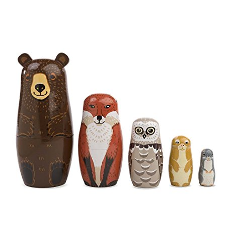 Magic Cabin Woodland Nesting Set
