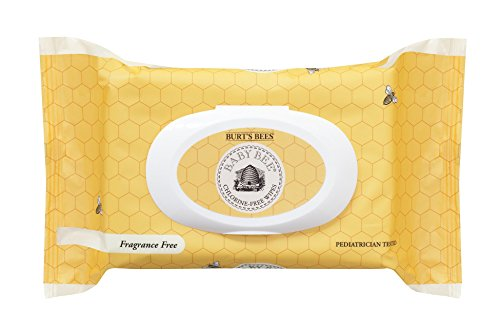 Burts Bees Baby Chlorine-Free Wipes, 72 Count (Packaging May Vary)