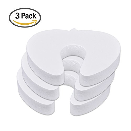 Mudder Foam Door Stopper Finger Guard