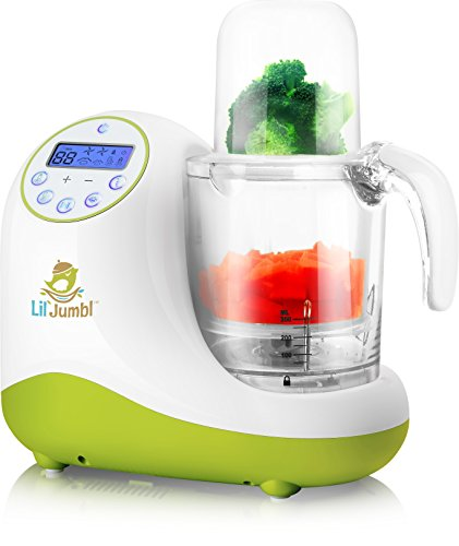 Lil' Jumbl MealPro All-in-One Baby Food Blender, Steamer, Reheater & Sterilizer