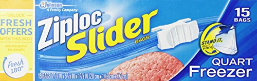 Ziploc Slider Bag Freezer
