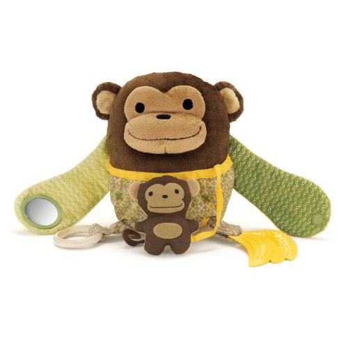 Skip Hop Hug and Hide Monkey Activity Toy