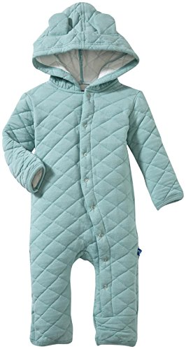 Kickee Pants Quilted Hoodie Coverall with Ears