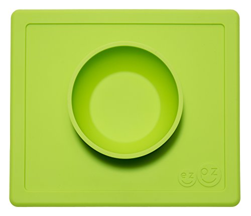 ezpz Happy Bowl One-Piece Silicone Placemat + Bowl