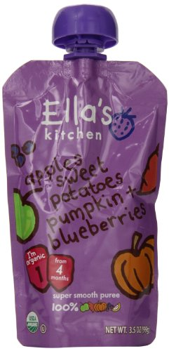 Ella's Kitchen Organic Baby Food Pouches