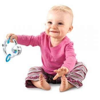 Fisher-Price Baby's First Silver Loop Teether