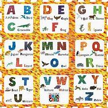 Eric Carle Alphabet Play Mat