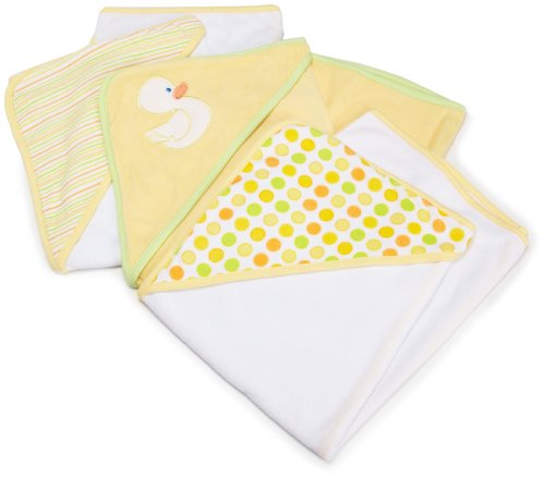 Spasilk Soft Terry Hooded Towel Set