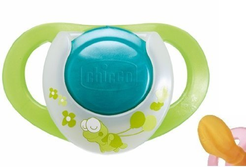 Chicco 1 Physio Orthodontic Latex Soother 12 Months+, 0% BPA