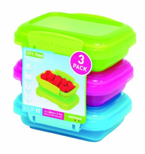 Sistema Klip It Food Storage Containers