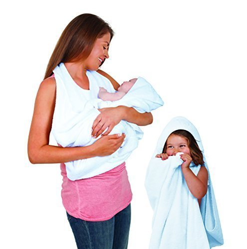 Clevamama Splash and Wrap Baby Bath Towel