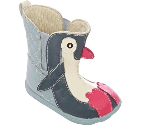 Zooligans Infant/Toddler Girls' Penny the Penguin Boot