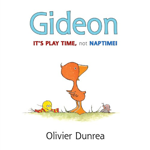 Gideon: It's Play Time, Not Naptime!