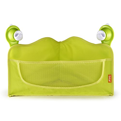 Brica Corner Bath Basket Toy Organizer