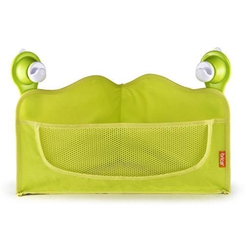 Brica Corner Bath Basket Toy Organizer