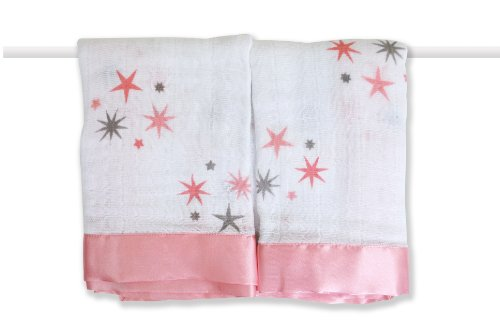 aden + anais Boutique 100% Cotton Muslin Issie Security Blanket