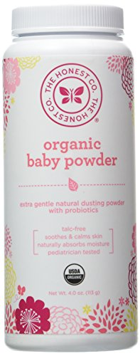 Honest Company Organic Baby Powder