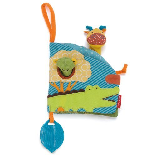 Skip Hop Giraffe Safari Puppet Activity Book Toy