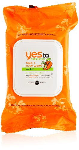 Yes To Baby Carrots Face/Nose Wipes
