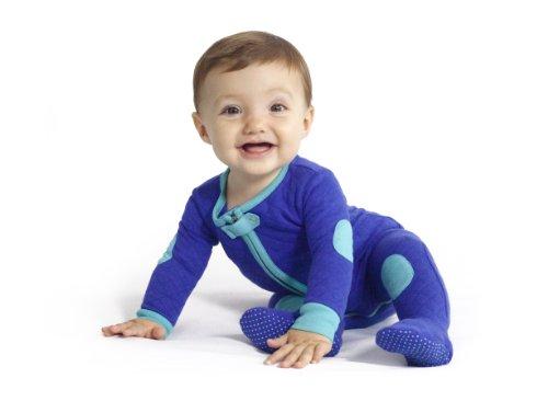 Baby Deedee Sleepsie Footie Pajamas, Peacock, 12-18 months