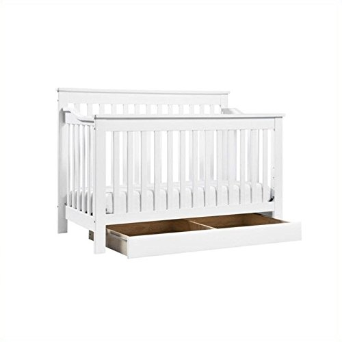 DaVinci Piedmont 4-In-1 Convertible Crib with Toddler Rail