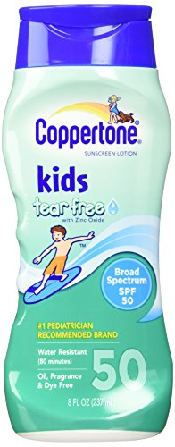 Coppertone Kids Pure & Simple Sunscreen Lotion, 50 SPF