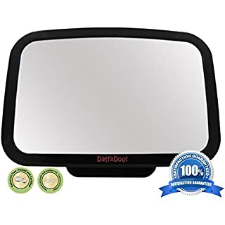 Amazon.com: #1 Back Seat Mirror - Baby & Mom Rear View Baby Mirror - Easily Watch your Precious Child In-Car - Adjustable, Convex and Shatterproof Glass: Baby