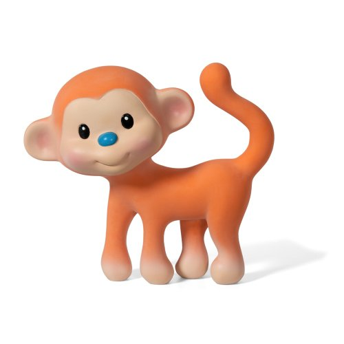 Infantino Monkey Baby Squeaky Teether