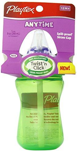 Playtex Baby Lil' Gripper Twist 'n Click Straw Cup