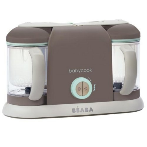 BEABA Babycook Pro, Latte Mint, 2X