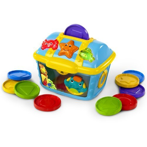 Baby Einstein Count and Discover Treasure Chest Children