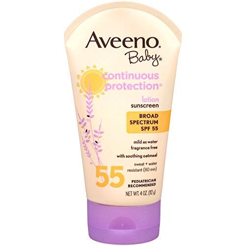 Aveeno Baby Sunblock Lotion, SPF 55