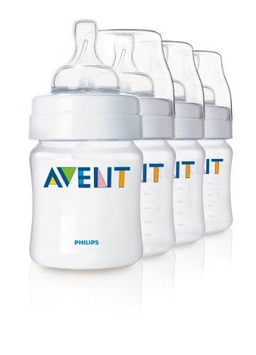Philips AVENT BPA Free Classic Polypropylene Bottles