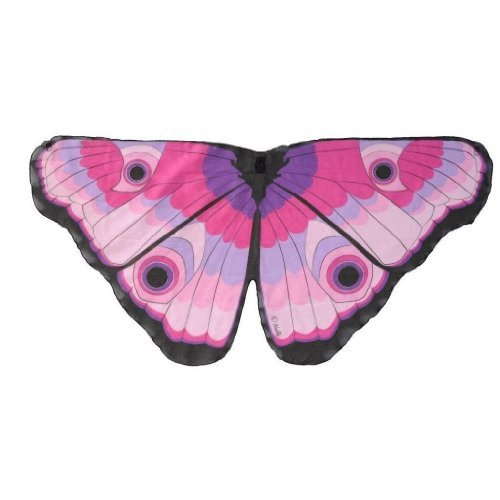 Butterfly Wings w/Glitter Eyes Pink - Dreamy Dress-Ups