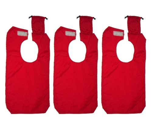 Cossettie Travel Bib with Attached Bag