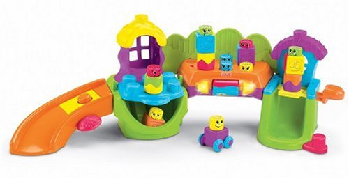 Fisher-Price Stack 'n Surprise Blocks Songs 'n Smiles Sillytown