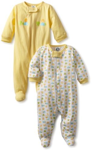 Gerber Unisex-Baby Sleep N Play Zip Front