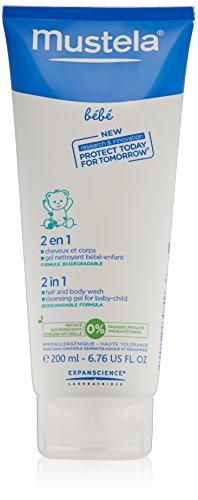 Mustela 2 In 1 Hair & Body Shampoo
