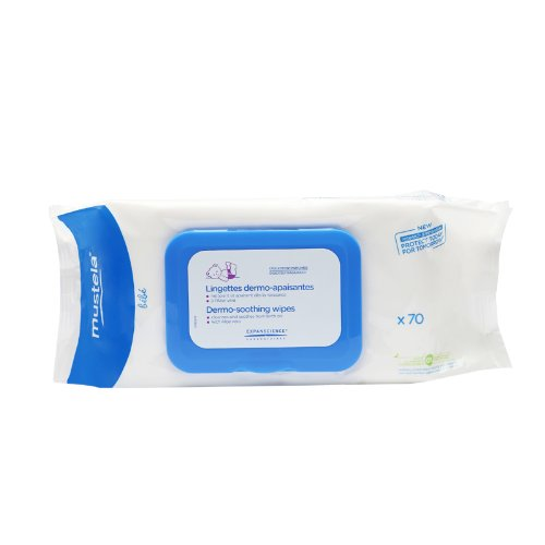 Mustela Dermo Soothing Wipes Skin Care