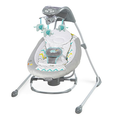 Ingenuity Inlighten 2-in-1 Cradling Swing