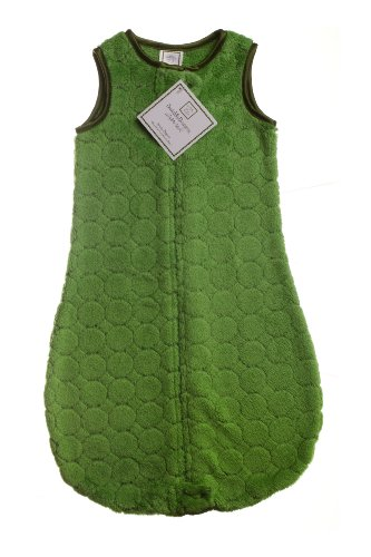 SwaddleDesigns Jewel Tone Puff Circle zzZipMe Sack