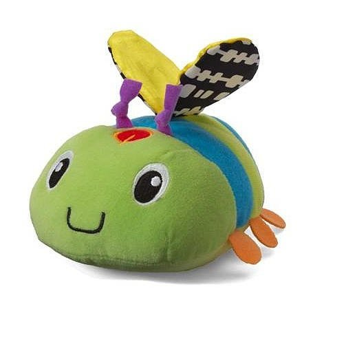 Infantino Musical Mover & Shaker Ladybug - Green and Blue