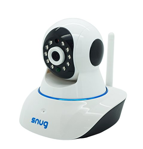 Snug Baby Monitor WiFi Video Camera with Audio for iPhone/Samsung