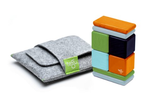 Tegu Nelson Pocket Pouch Magnetic Wooden Block Set