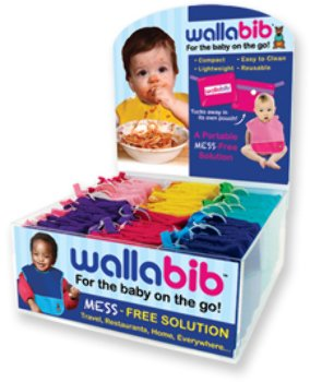 Wallabib Foldable Reusable Bib