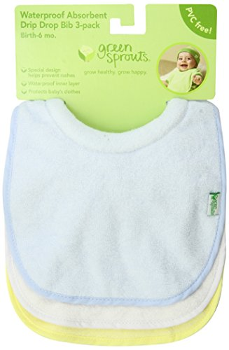 green sprouts Stay-Dry Milk Catcher Bib