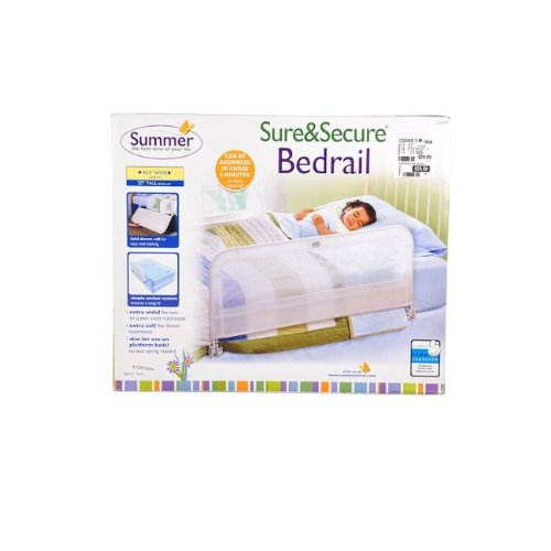 Summer Infant Sure and Secure Single Bedrail