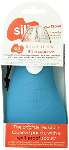 Sili Squeeze Spill-Proof Pouch