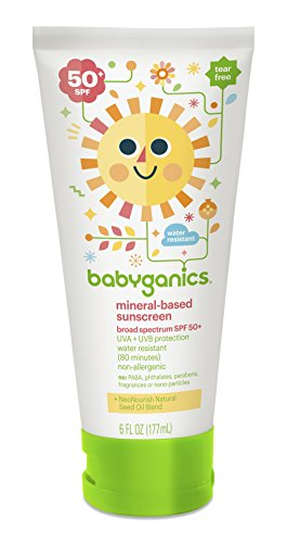 BabyGanics Mineral Based SPF 50 Sunscreen